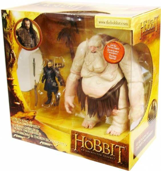 Le Hobbit : Un Voyage Inattendu - Le Grand Gobelin & Thorïn Ecu-de-Chêne