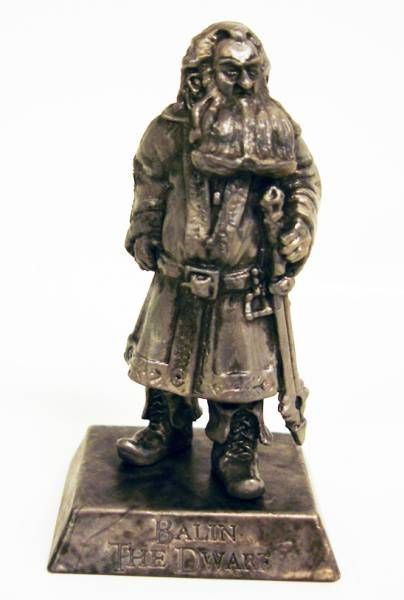 Le Hobbit : Un Voyage Inattendu - Mini Figurine - Balin (argent)