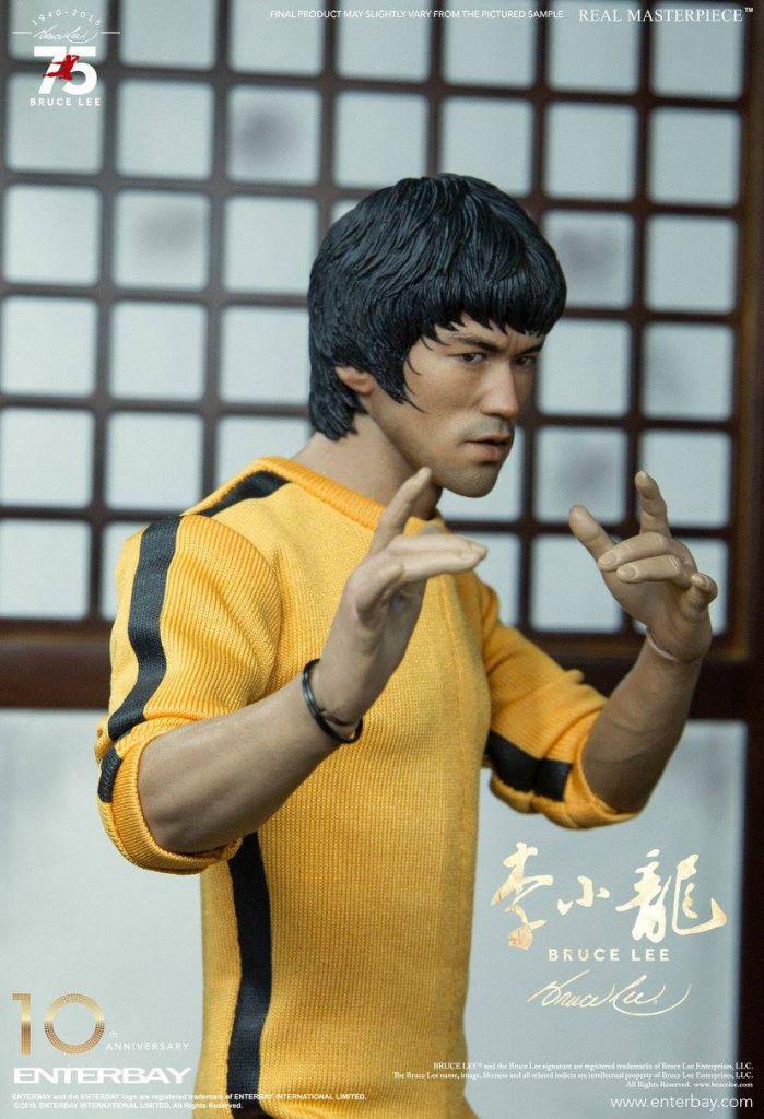 Le Jeu de la Mort (Game of Death) - Bruce Lee - Figurine 30cm Enterbay (Behind the Scene Edition)