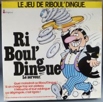 Le Jeu de Riboul\'dingue - Board Game -Colorforms 1974