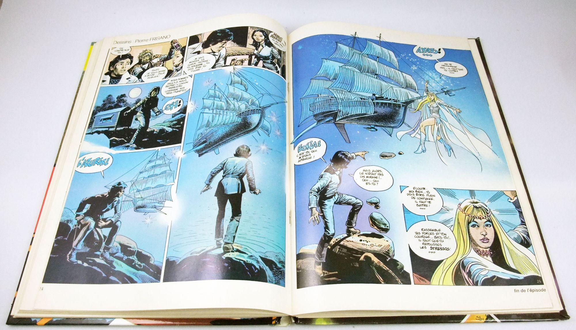 Le Journal de Captain Fulgur (Albator, San Ku Kai) - Recueil n°1 - Editions Dargaud