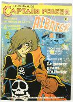 Le Journal de Captain Fulgur présente Albator - Mensuel n°06 - Editions Dargaud