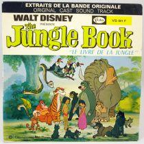 Le Livre de Jungle - Disque 45T - Buena Vista Record 1968