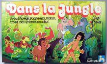 """Le Livre de la Jungle - Jeu d\'atelier Nathan \""""Dans la jungle\"""" 1979"""