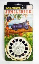 Le Livre de la Jungle - Pochette de 3 View-Master 3-D