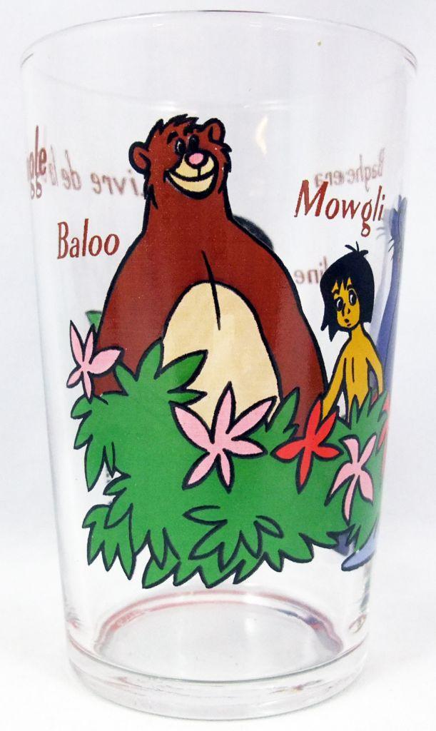 Le Livre De La Jungle Verre A Moutarde Amora Baloo Mowgli Bagheera Mowgline