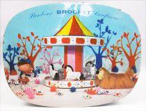 Le Manège Enchanté - Boite à bonbons en métal - Brochet 1967
