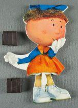 Le Manège enchanté - Figurine Carton Magnétique Djeco 1966 - Margotte