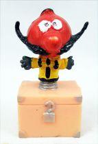 Le Manège enchanté - Figurine Plastique - Zébulon sur coffre 6cm