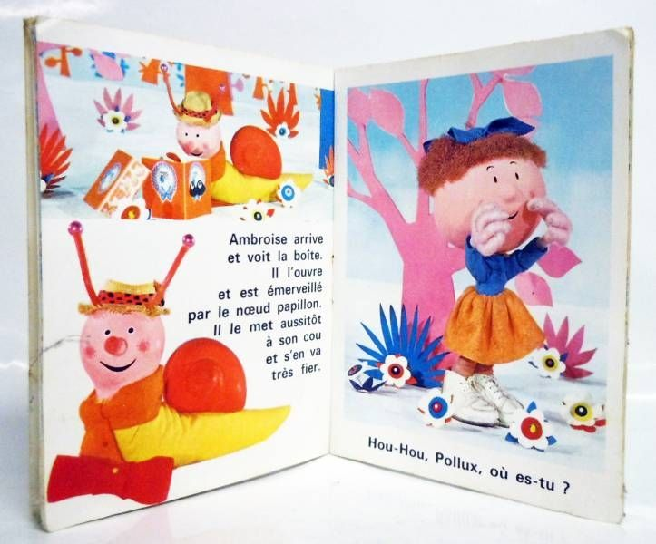 Le manège enchanté - Mini-Album Editions Gautier-Languereau Le noeud papillon de Pollux - ORTF 1970