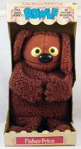 Le Muppet Show - Fisher-Price - Marionette à main 40cm - Rowlf (neuve en boite)