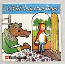 Le Petit Chaperon Rouge - View-Master (Sawyer\'s Inc.) - Pochette de 3 disques (21 images stéréo) et Livret