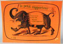 Le Petit Rapporteur TF1 - Carte Postale Editions Yvon - Prenez la vie du bon coté