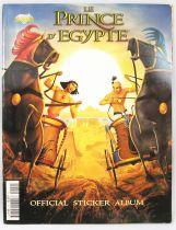 Le Prince d\'Égypte - Album collecteur de vignettes Diamond