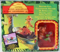 Le Roi Lion - Mattel 11674 Playset & PVC Figure - Bedtime Pals Pumbaa & Timon MISB