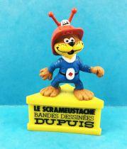 Le Scrameustache - Figurine PVC Schleich sur Socle (Promotionnelle Dupuis)