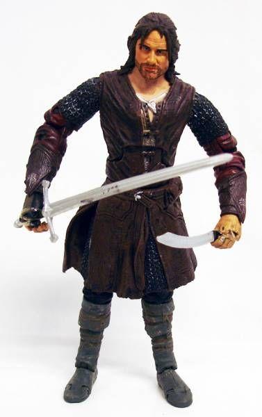 Le Seigneur des Anneaux - Aragorn \'\'Super Articulé\'\'- loose