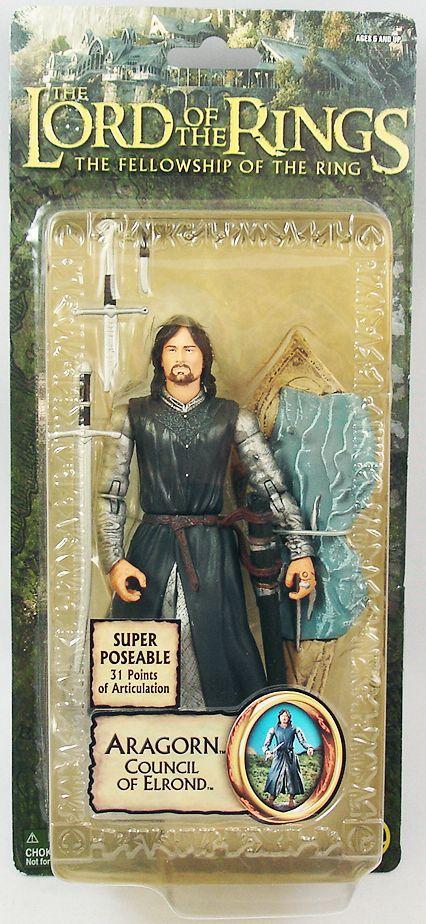 Le  Seigneur des Anneaux - Aragorn au Conseil d'Elrond - FOTR Trilogy  negozio fa acquisti e vendite