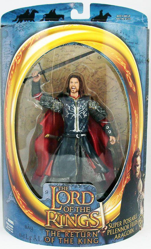 Le Seigneur des Anneaux - Aragorn aux Champs de Pelennor - ROTK