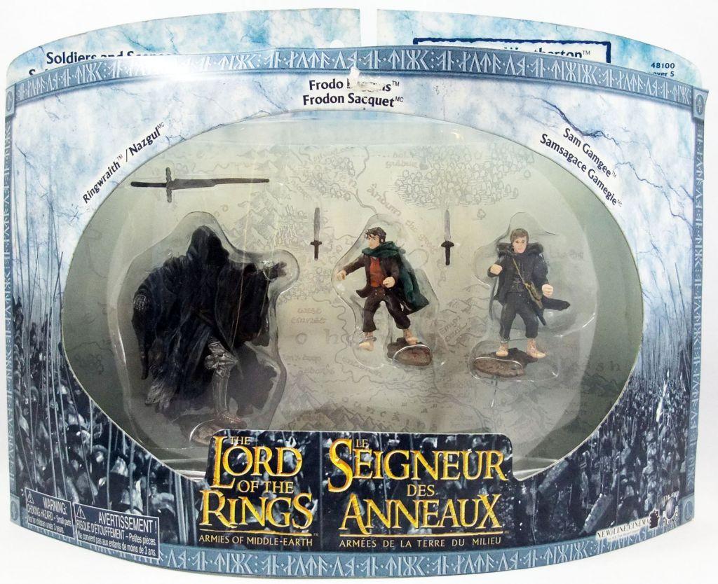 Le Seigneur des Anneaux - Armies of Middle-Earth - Attaque au Mont Venteux : Frodon, Sam, Nazgul