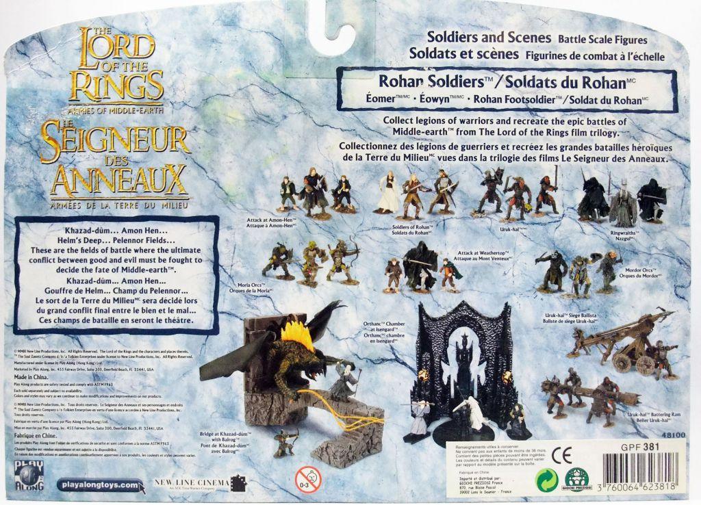 Le Seigneur des Anneaux - Armies of Middle-Earth - Soldats du Rohan : Eomer, Eowyn, Soldat Rohirrim
