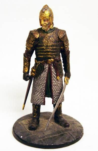 Le Seigneur des Anneaux - Eaglemoss - #080 Le Roi Théoden aux Champs du Pelennor