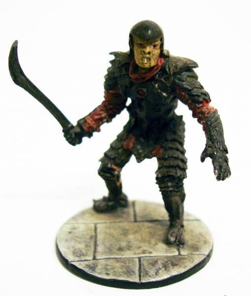 Le Seigneur des Anneaux - Eaglemoss - #097 Orc de la tour de siège à Minas Tirith