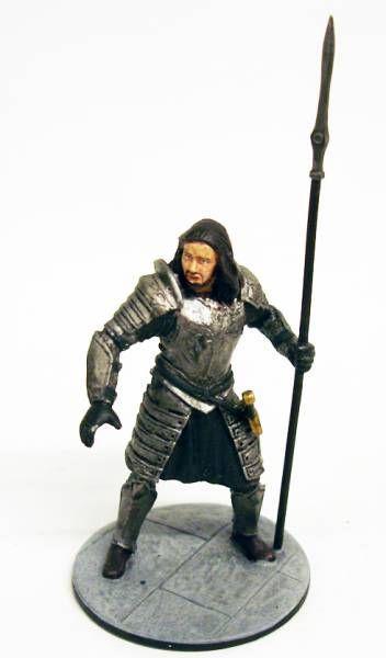 Le Seigneur des Anneaux - Eaglemoss - #124 Soldat des feux d\'alarme à Minas Tirith