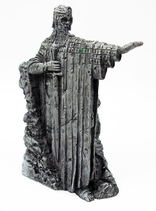 Le Seigneur des Anneaux - Eaglemoss - #126 L\'Argonath Elendil sur le fleuve Anduain