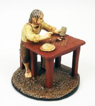 Le Seigneur des Anneaux - Eaglemoss - #145 Hobbit joueur d\'echecs à Hobbitebourg