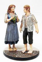 Le Seigneur des Anneaux - Eaglemoss - #151 Sam & Rosie à Hobbitebourg