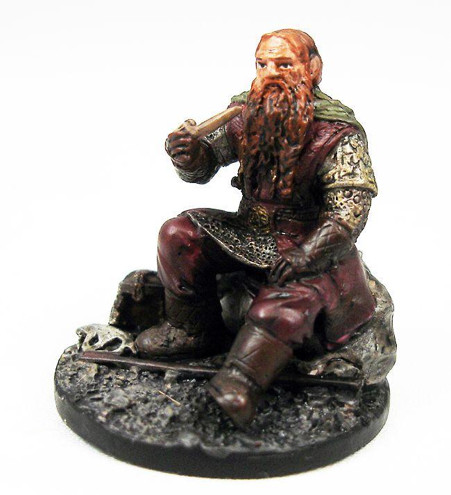 Le Seigneur des Anneaux - Eaglemoss - #153 Gimli au Gouffre de Helm