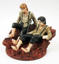 Le Seigneur des Anneaux - Eaglemoss - #164 Frodon et Sam sur la Montagne du Destin