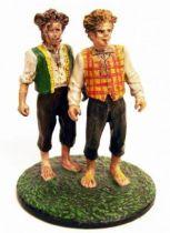 Le Seigneur des Anneaux - Eaglemoss - #168 Merry et Pippin à Hobbitebourg