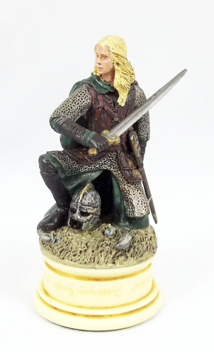 Le Seigneur des Anneaux - Eaglemoss Chess Set n°1 - Eowyn (Pion Blanc)