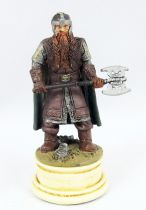 Le Seigneur des Anneaux - Eaglemoss Chess Set n°1 - Gimli (Pion Blanc)
