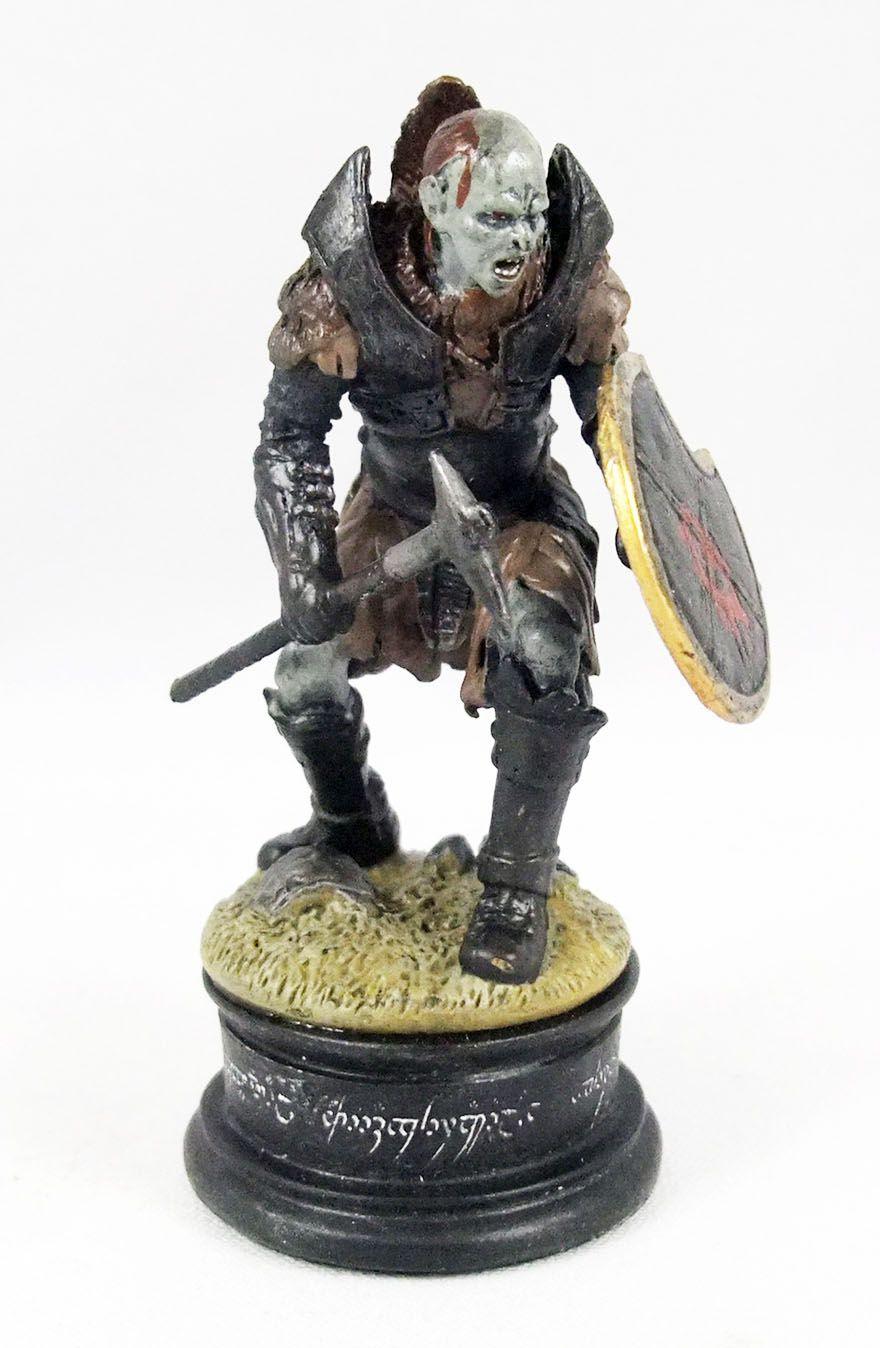 Le Seigneur des Anneaux - Eaglemoss Chess Set n°1 - Orc avec hache (Pion Noir)