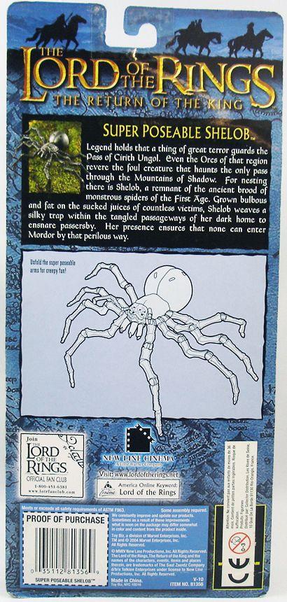 Le Seigneur des Anneaux - Shelob Arachné - ROTK Trilogy