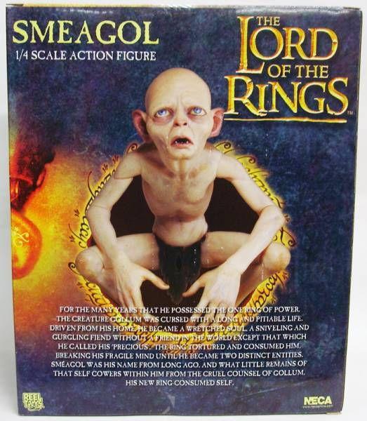 Le Seigneur des Anneaux - Smeagol - Figurine echelle 1/4 - NECA