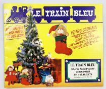 Le Train Bleu - Catalogue Jouets Noël 1993
