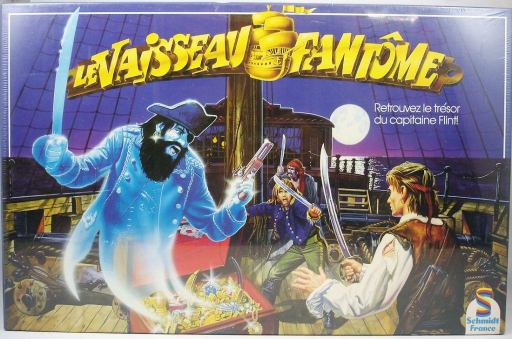 Le Vaisseau Fantôme (The Ghost Ship) - Board Game - Schmidt France 1991