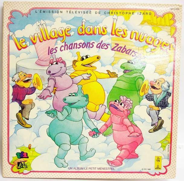 Le village dans les nuages - LP record - Les chansons des Zabars