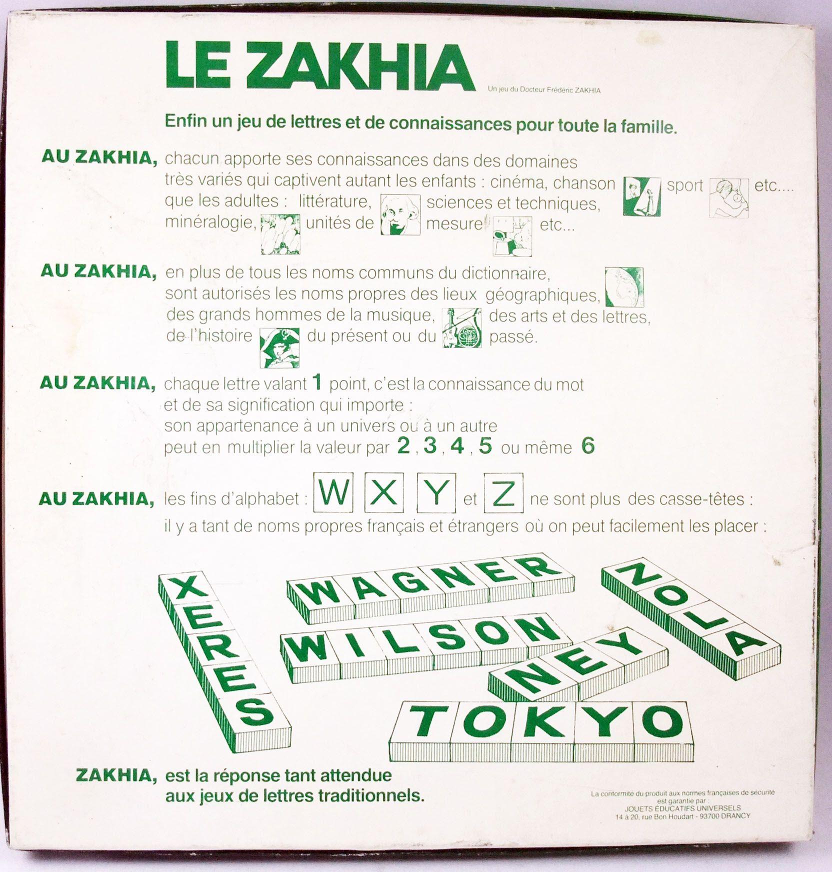 Le Zakhia - Board Game - Ceji Interlude 1982