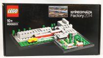 LEGO (Exclusives) Ref.4000011 - Nyíregyháza Factory 2014