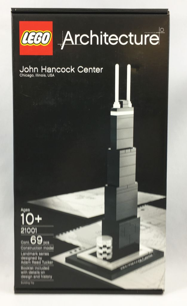 New Lego 21001 Architecture John Hancock Center Sealed Set in Great Condition