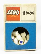 LEGO Ref.487 - 1x1 Bricks with Letters