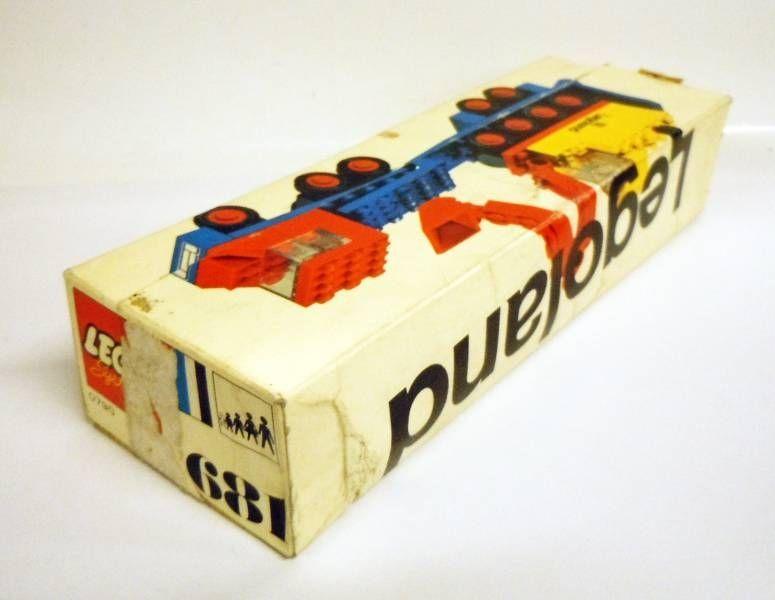 Lego Ref.681 - Low-Load with 4 Wheel Excavator