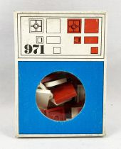 LEGO Ref.971 - Flat Tile Bricks (White & Red)