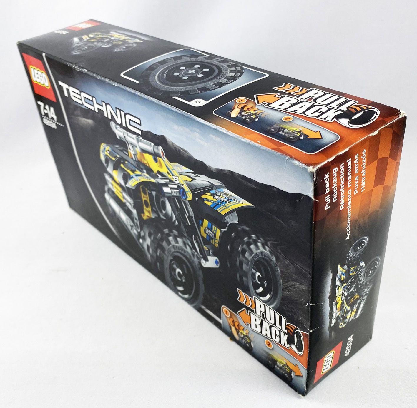 LEGO Technic Ref.42034 - Le Quad (Pull Back action)