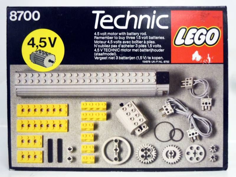 Lego Technic Ref8700 45v Expert Builder Power Pack